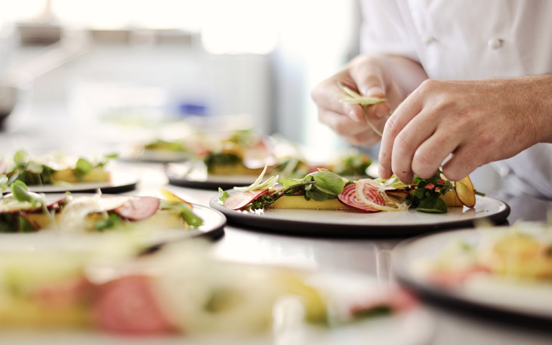 Corporate Event Catering Plating