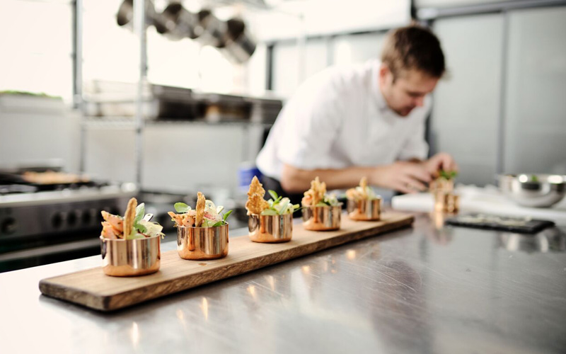 Corporate Event Catering Kitchen
