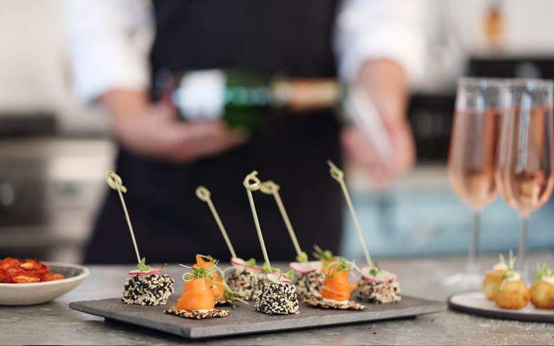Corporate Event Catering Canapes